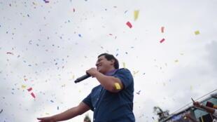 Andrés Arauz a été l'un des grands lieutenants de l'ex-président bolivarien Rafael Correa.
