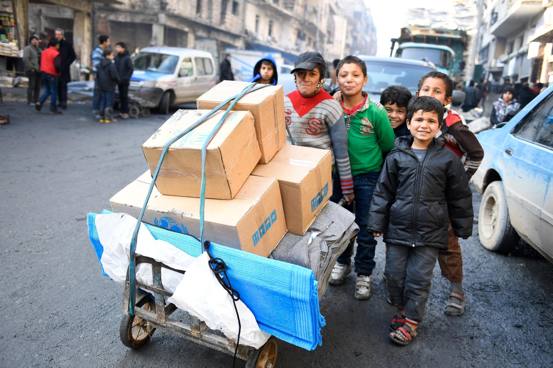 Hukumar kula da 'Yan gudun hijira na tallafawa Mutanen Aleppo  na Syria