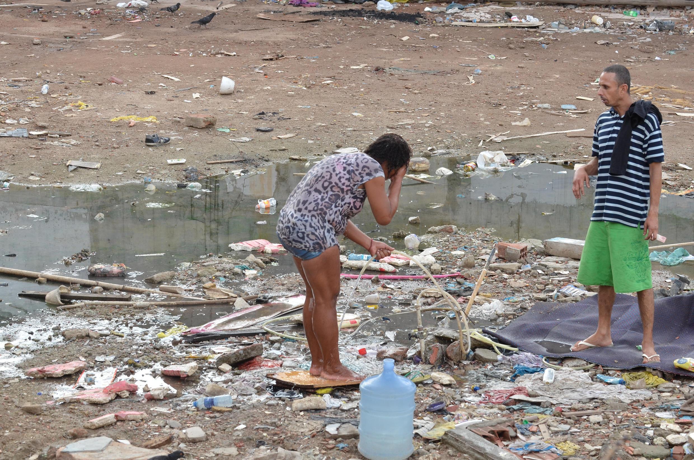 Favela do Metrô-Mangueira no Rio de Janeiro