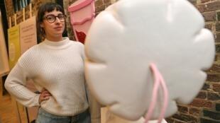 Florence Schechter, diretora do novo Museu da Vagina, em Londres.