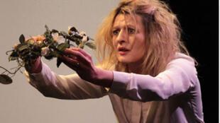 Le Projet Penthésilée, mis en scène par Catherine Boskowitz, au Théâtre du Quartier d'Ivry.