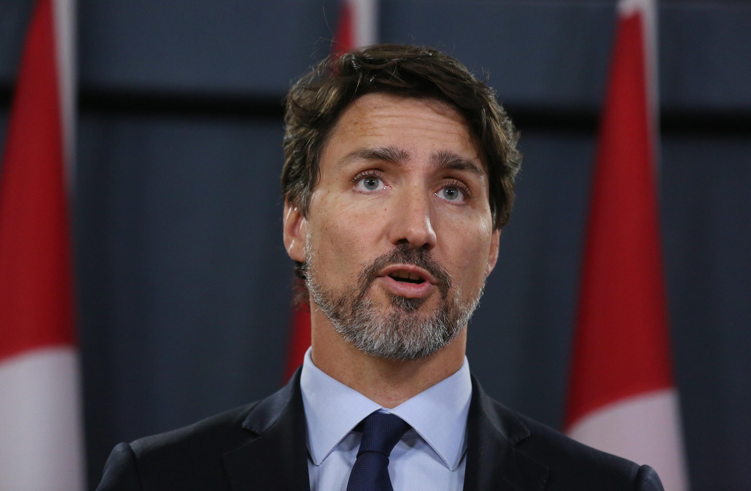 Justin Trudeau said extra funds would reinforce Canada's health systems and help those forced to undergo isolation