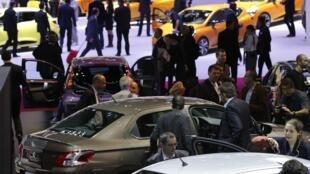 Le Mondial de l'automobile a débuté la semaine dernière dans une ambiance morose.