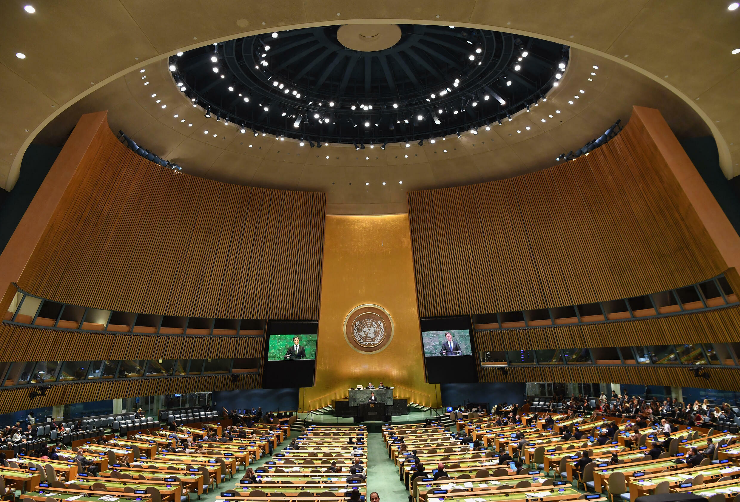 UN delegates must provide proof of vaccination to enter the General Assembly debate hall