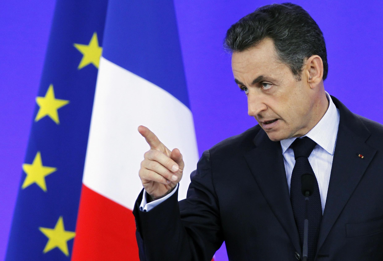 Shugaban Kasar Faransa Nicholas Sarkozy