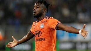 Maxwel Cornet scored Lyon's first and third goals in their waltz past Marseille.