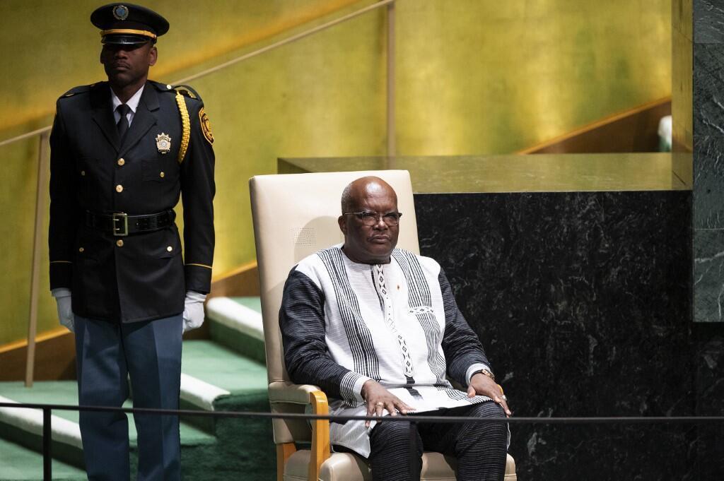 Rock Marc Chrisitan Kaboré Shugaban kasar Burkina Faso