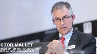 金融时报亚洲新闻编辑、香港外国记者会FCC副会长的马凯(Victor Mallet)被香港拒续工作签证,2018年10月。
