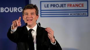 Arnaud Montebourg, candidat à la primaire de la gauche, le 2 novembre 2016.