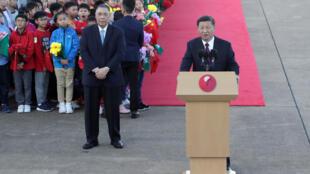中国国家主席习近平周五20日出席澳门在政权移交20周年庆典大会讲话