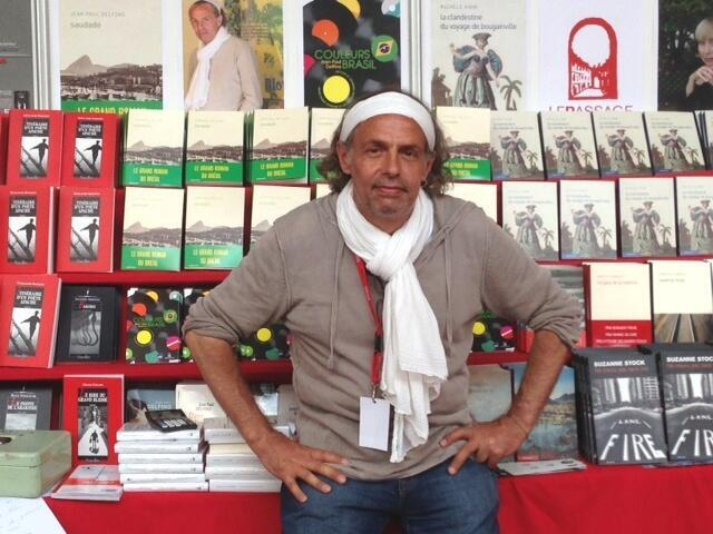 Jean-Paul Delfino, escritor francês, apaixonado pelo Brasil.