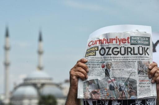 Cumhuriyet, Turkey's leading independent newspaper, has been fiercely critical of President Recep Tayyip Erdogan and seen several of its staff prosecuted and jailed