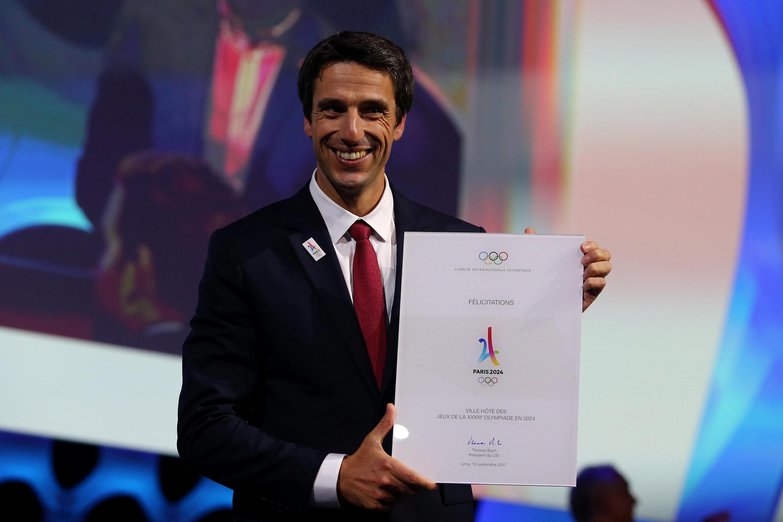 Tony Estanguet, presidente do Comitê Organizador dos Jogos Paris 2024.