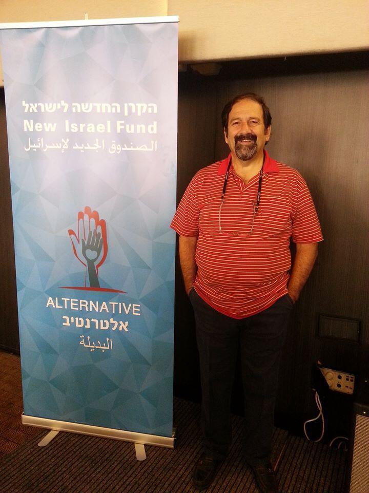 """O psicólogo brasileiro naturalizado israelense, Davi Windholz fundou a Ong """"Alternative for Peace""""."""