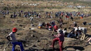 Kwazulu-Natal - Afrique du Sud - mineurs illégaux - diamants