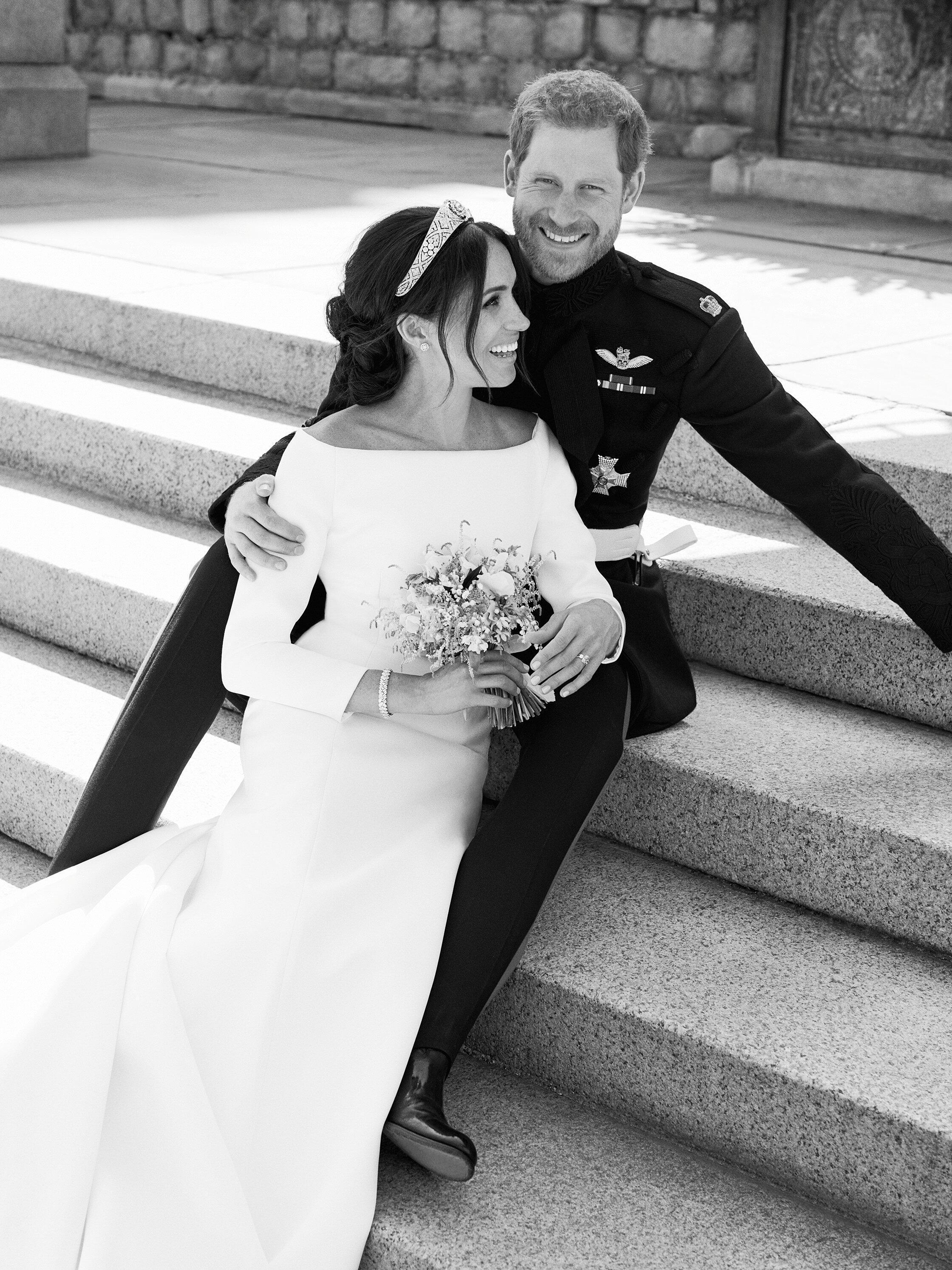Harry e Meghan se tornaram duque e duquesa de Sussex