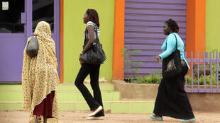 Femmes à Khartoum, la capitale soudanaise.