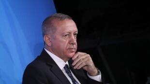 ប្រធានាធិបតីតួកគី Recep Tayyip Erdogan