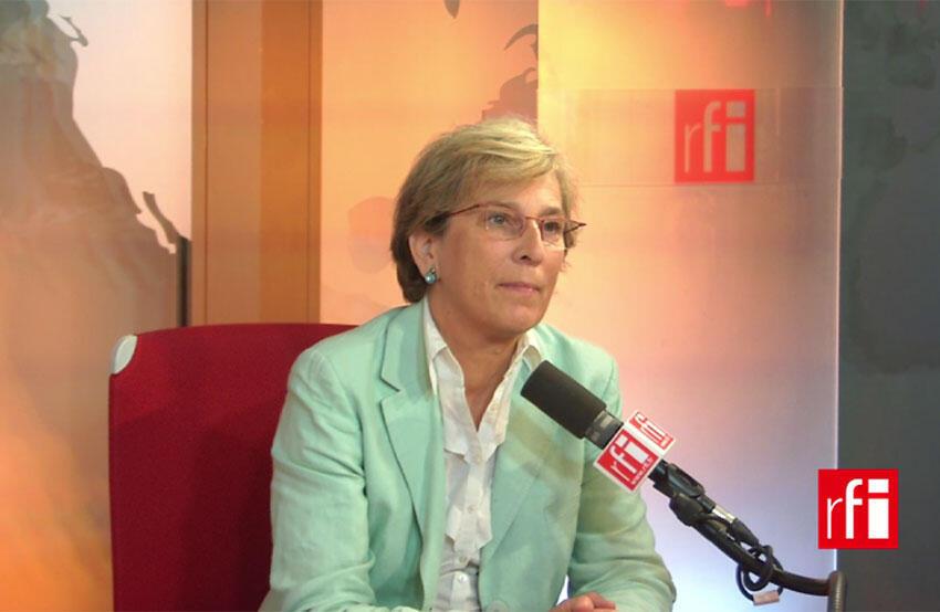 Marie-Noëlle Lienemann, sénatrice Ps de Paris, ancienne ministre et représentante de l'aile gauche du PS.