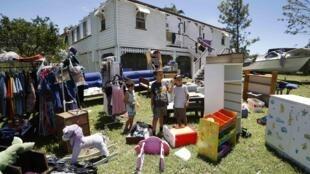 Cidade australiana de Yeppoon foi uma das mais atingidas pelo ciclone Marcia.