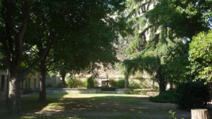 Les Jardins de la rue de Mons à Avignon.
