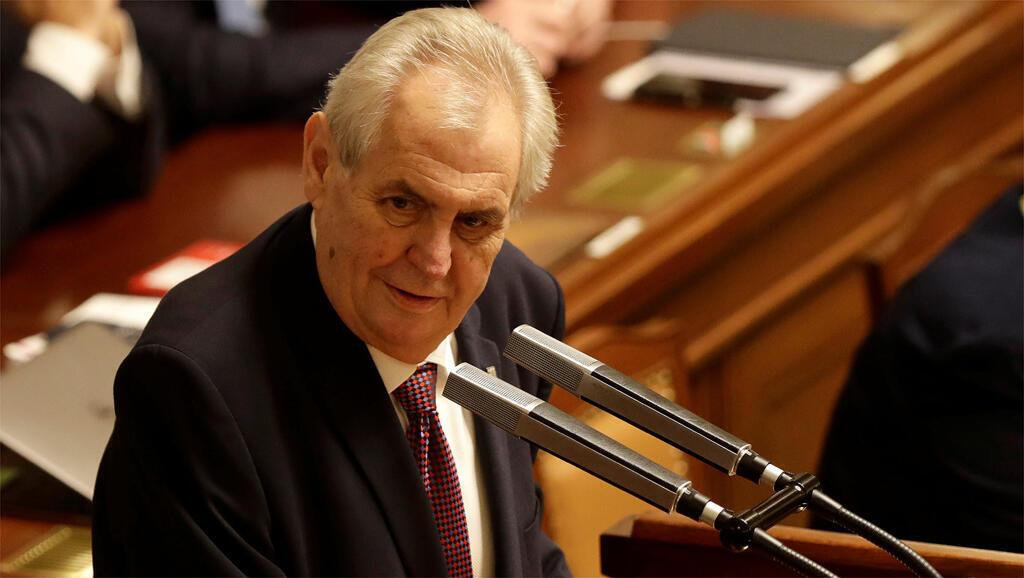Tổng thống Séc, Milos Zeman, đồng minh trung thành nhất của Israel tại châu Âu.