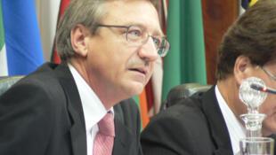 Clément Duhaime, administrateur de l'Organisation internationale de la francophonie.
