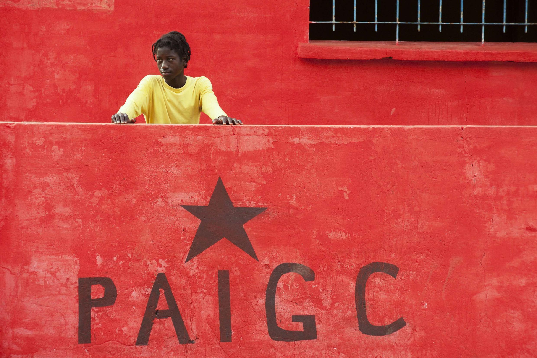 Cartaz do PAIGC na Guiné Bissau.