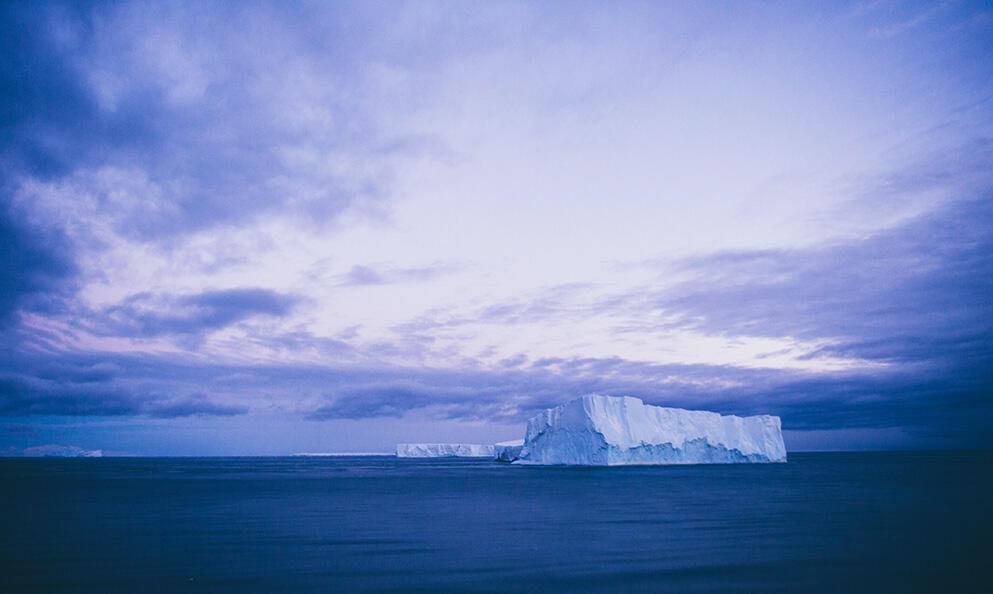 El Antártico es el pulmón del océano.