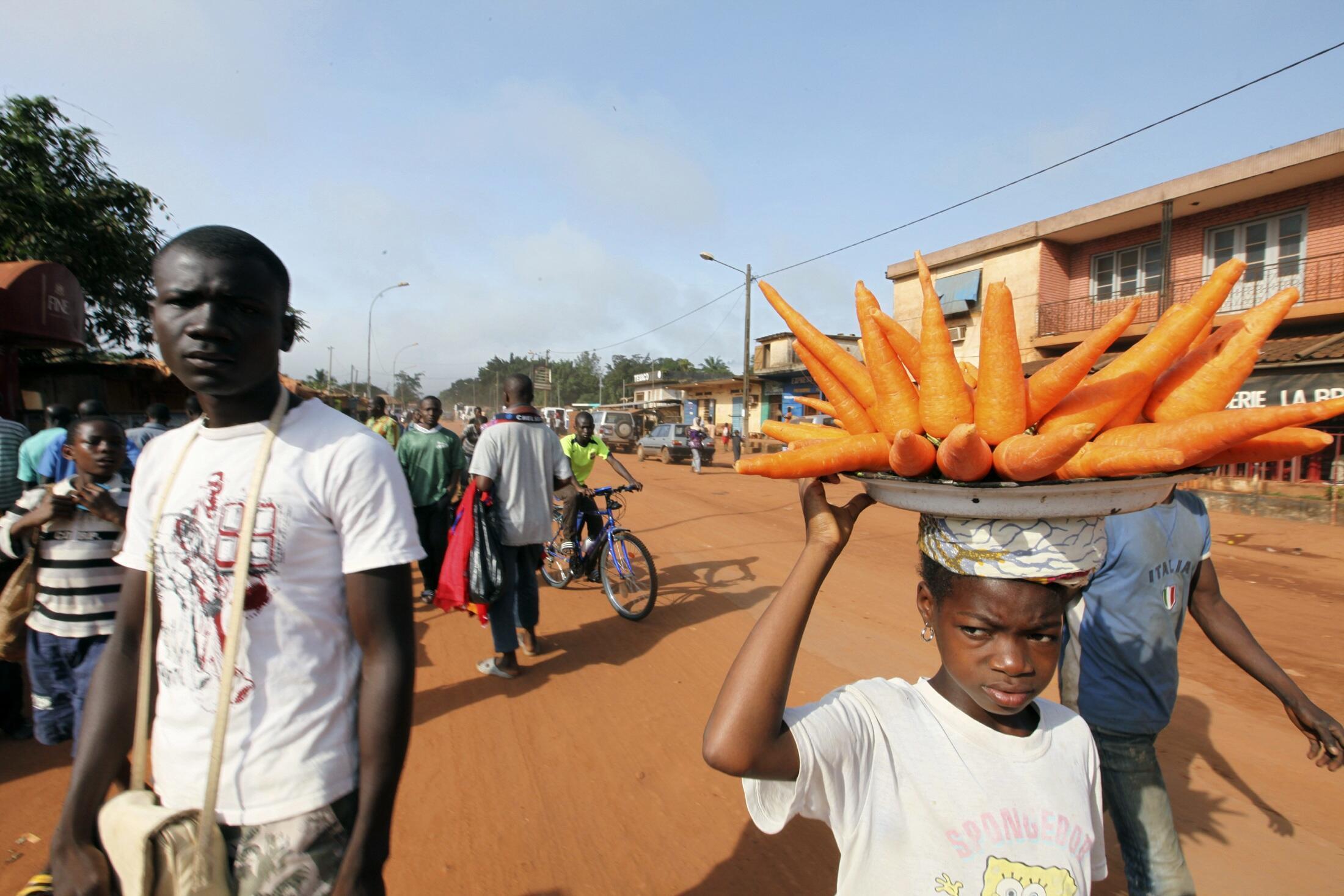 En Côte d'Ivoire, 77% de la population a moins de 35 ans.