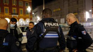 France - Nice - couvreu-feu