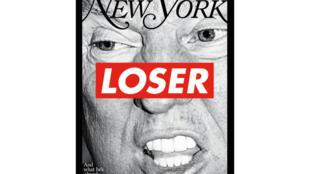 Capa da revista New York, uma peça de arte assinada por Barbara Kruger.