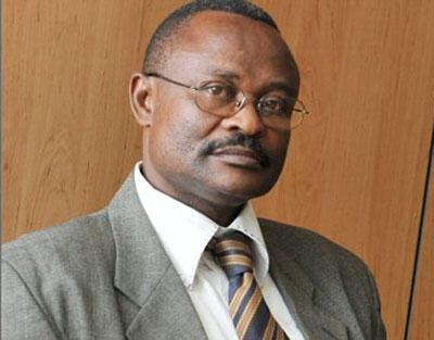 Clément-Anicet Guiama Massogo, porte-parole de la présidente centrafricaine Catherine Samba Panza.