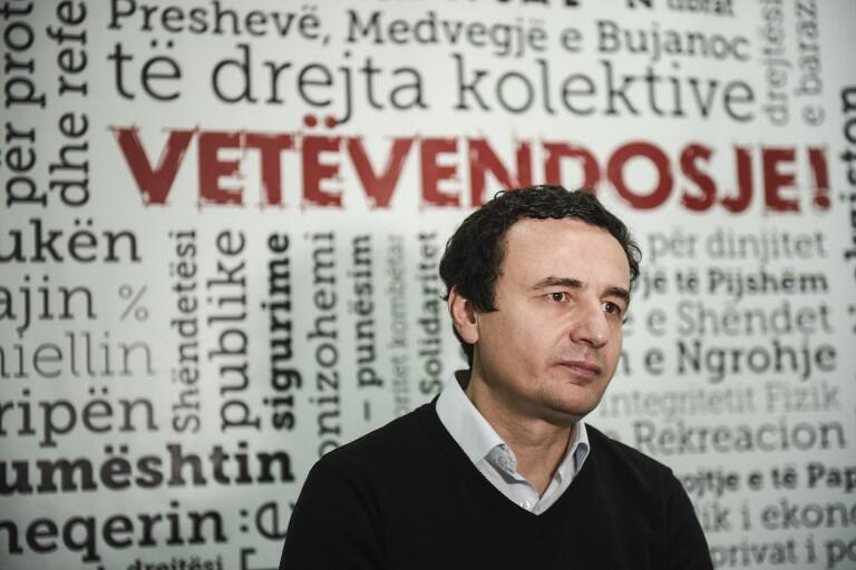 Albin Kurti, le Premier ministre kosovar.