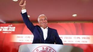 O primeiro-ministro de Portugal, António Costa, venceu as eleições parlamentares de domingo, mas sem obter maioria na Assembleia.