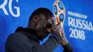 Le Sénégalais Sadio Mané, la veille de Japon-Sénégal, en Coupe du monde 2018.