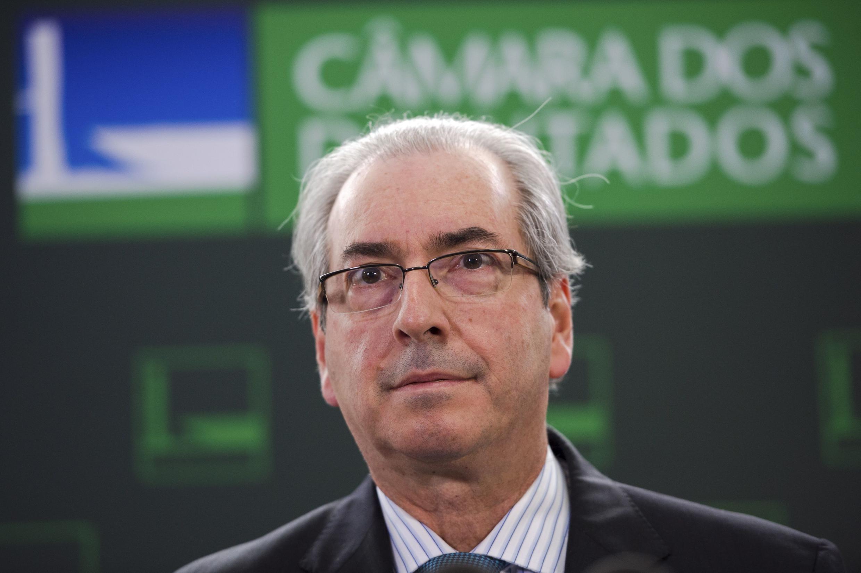 Eduardo Cunha avait réussi à devenir l'un des hommes les plus puissants du Brésil en accédant à la présidence de la Chambre des députés.