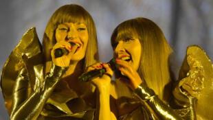 El dúo Brigitte.