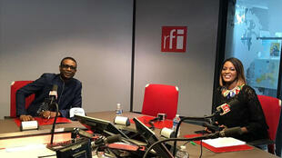 Youssou Ndour et Diara Ndiaye.