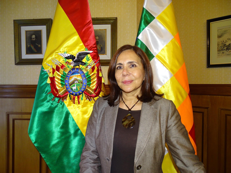 Karen Longaric Ministan harakokin wajen Bolivia