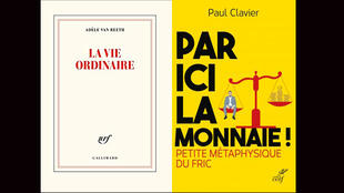 """""""La vie ordinaire"""", d'Adèle van Reeth et  """"Par ici la monnaie"""", de Paul Clavier."""