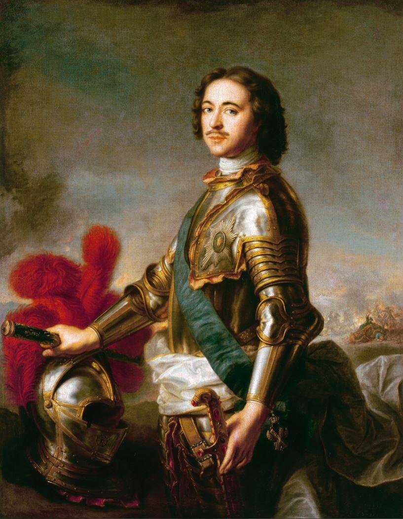 Портрет Петра Первого, Жан-Марк Натье, 1717 г.