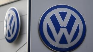 Logo của hãng xe Đức Volkswagen.