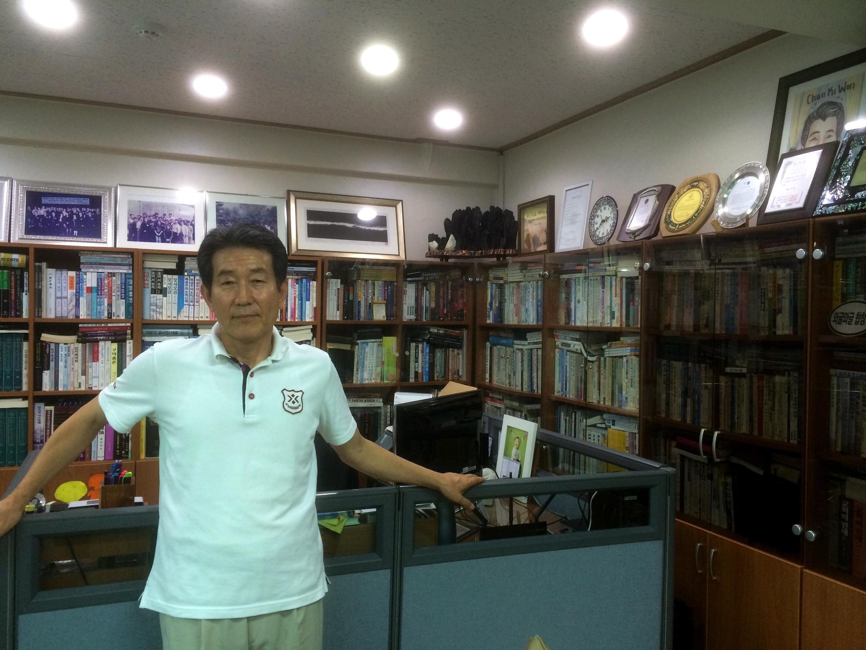 Le pasteur Chun Ki-won.