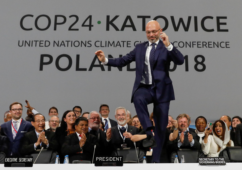 全球氣候大會達成共識 2018年12月15日