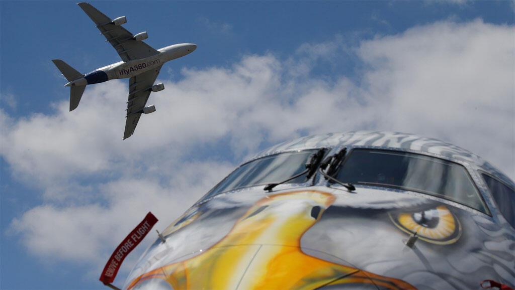 Le Bourget: Airbus e Boeing com mais de 600 encomendas