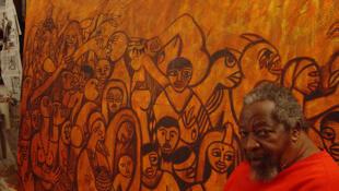 Malangatana Ngwebya Vantente, artista plástico moçambicano, 2003