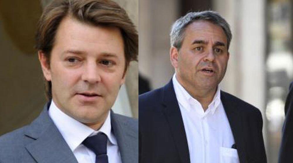 François Baroin et Xavier Bertrand.