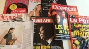 Capas de revistas semanais e especializadas francesas de 7 de outubro de 2015