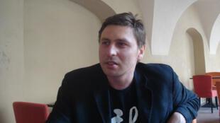 Marius Ivaskevicius, écrivain et journaliste lituanien, auteur du roman « Les Verts ».